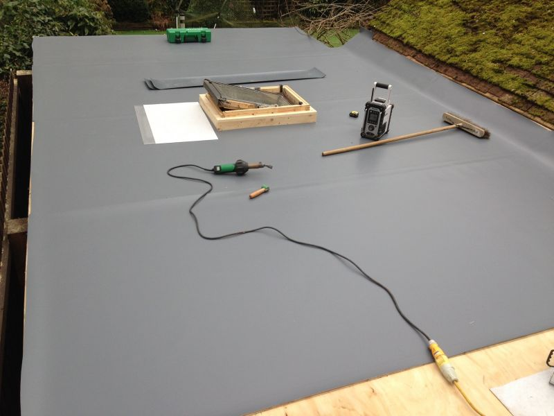 Single Ply PVC Flat Roofing